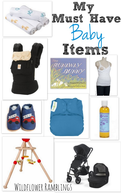 baby must-haves - wildflowerramblings