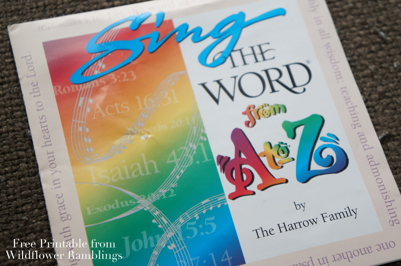 Sing the Word bible verses from a to z