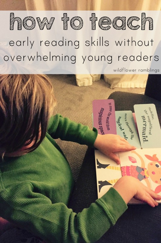 early reading activities for beginning readers that don't overwhelm - wildflower ramblings - preschool blog!