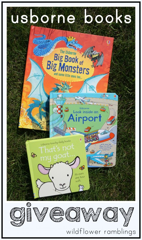 usborne books giveaway -- ENCOURAGE READING with your child!!