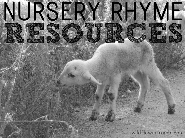 nursery rhyme teaching resources!
